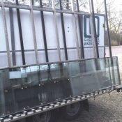 Glaszetters Winterswijk glas op aanhangwagen